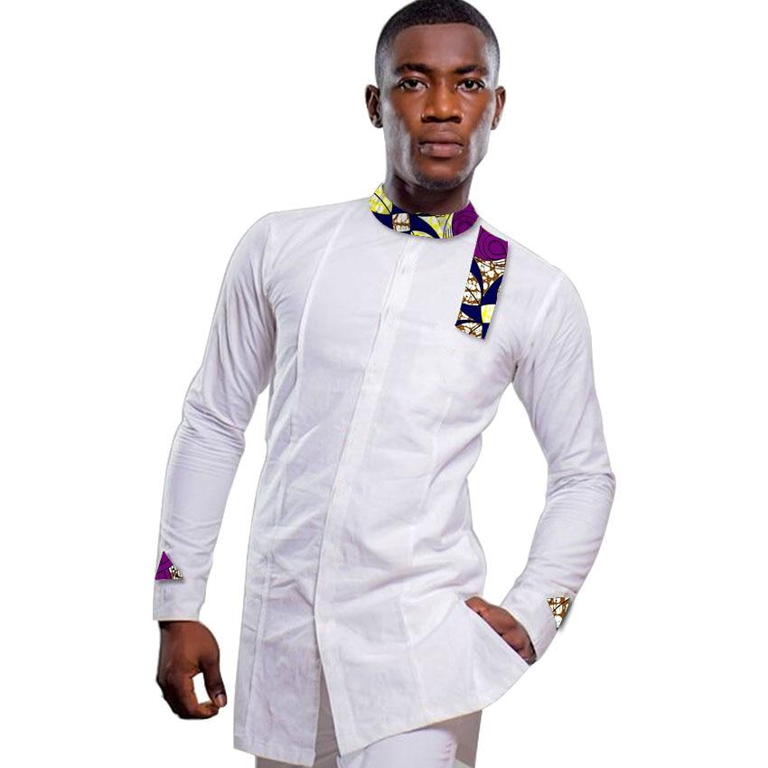 Ανδρικά αφρικανικά πουκάμισο - Εθνικά ρούχα - Φωτογραφία 2
