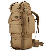 military new backpack waterproof 1000 D Oxford large capacity backpack 70 l Steel pipe package tourist best backpack leisure