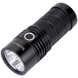 Sofirn SP36S Leistungsstarke USB Aufladbare LED Taschenlampe 4 * Samsung LH351D 5200lm 18650 Taschenlampe 5000 K 90 CRI 2 Gruppen camping Licht