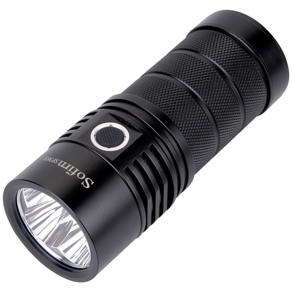 Sofirn SP36S Powerful USB Rechargeable LED Flashlight 4*Samsung LH351D 5200lm 18650 Torch 5000K 90 CRI 2 Groups Camping Light