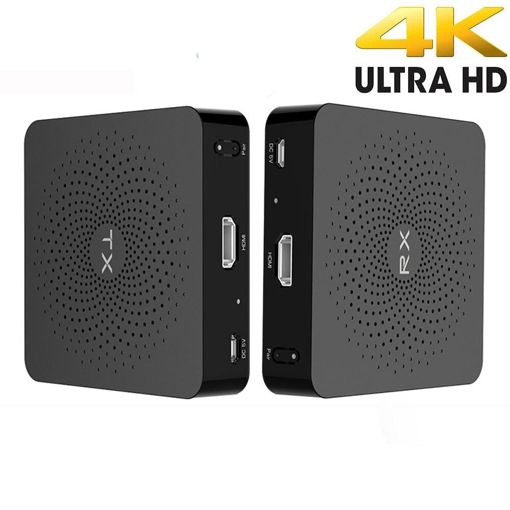 Measy W2H-4K 4K HD sans fil vidéo Audio Transmission TV AV émetteur émetteur récepteur Extender HIMI 30M 60GHz nouveau