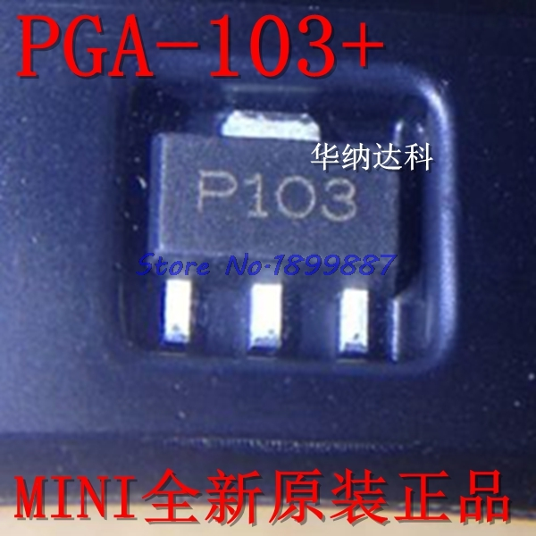 1pcs/lot PGA-103 + PGA-103 PGA103 SOT-89 IC .