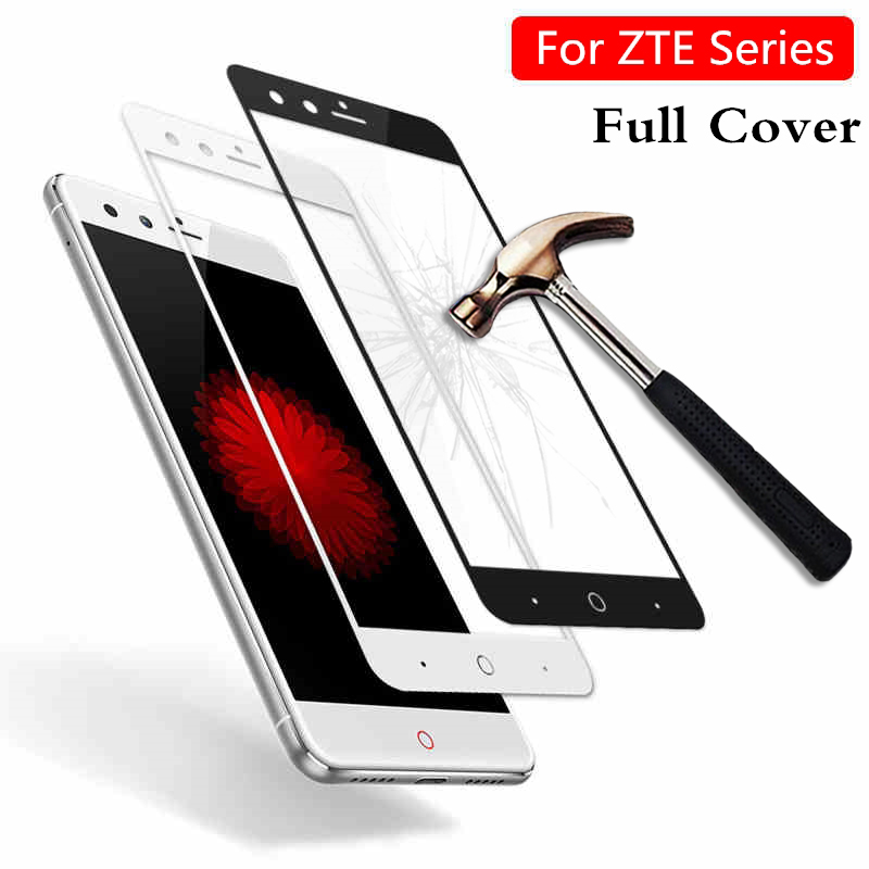 Protective glass for <font><b>ZTE</b></font> Axon 7 Z17 <font><b>Z11</b></font> <font><b>Mini</b></font> S V8 all Cover <font><b>Screen</b></font> protector for <font><b>zte</b></font> blade v8 film glas for <font><b>zte</b></font> <font><b>nubia</b></font> <font><b>z11</b></font> <font><b>mini</b></font> s image