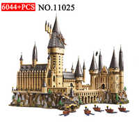 1192 Harry Magic Potter Hogwarts Castle Compatible 71043 16060 Building Blocks Bricks Kids Educational Toys For Children 11025