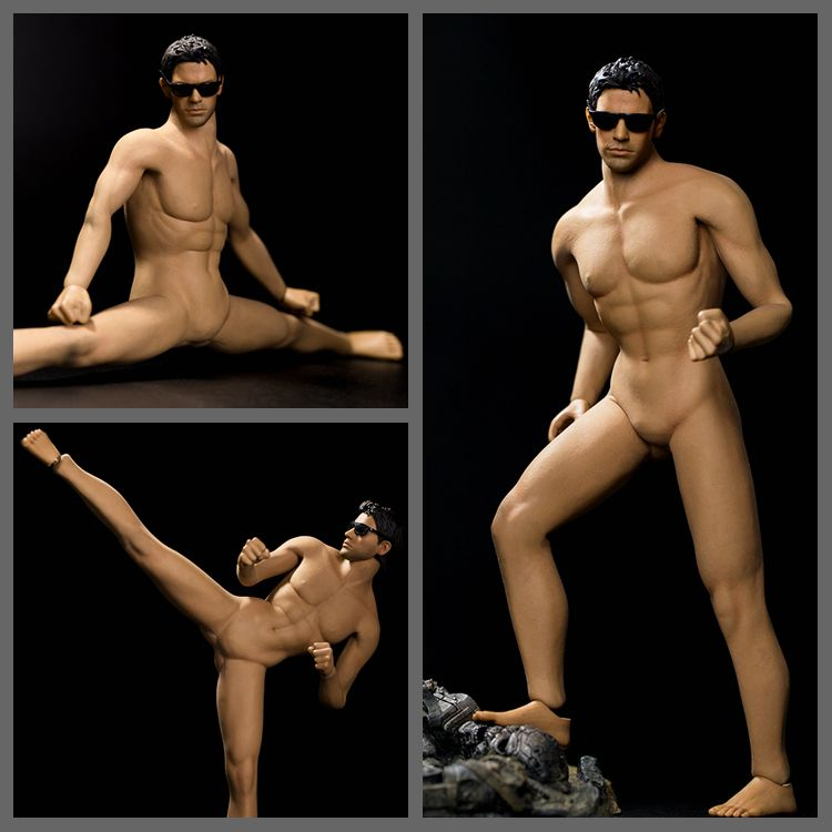 1/6 scale figure doll Super Flexible muscle male seamless body for 12 action figure doll accessories without head M31 1 6 scale nude male body figure muscle man soldier model toys for 12 action figure doll accessories