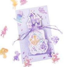 10packs/lot Yarn Bag Sticker Creative Handbook Diary DIY Decorative Profiled Stickers Two Selection