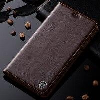 Новый обложка case для huawei honor 5 5а 5c 5x роскошный натуральная кожа магнитный стенд флип мобильный телефон case
