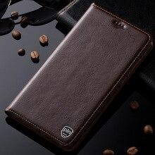 Nouveau luxe véritable couverture en cuir pour xiaomi mi mix magnétique flip stand mobile téléphone case