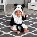 Toalhas macias Do Bebê Forma Animal Com Capuz Toalha Linda Toalha de Banho Do Bebê Roupão de Banho Com Capuz Cobertor Do Bebê Roupão de Banho Para Recém-nascidos