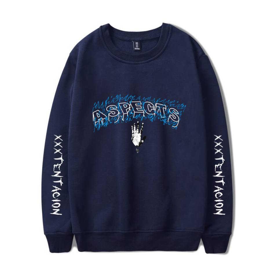 Xxxtentacion rip bluzy smutny sweter dres męski rap raper