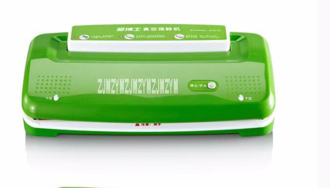 Petite machine de conditionnement sous vide entièrement automatique scellant la machine de cachetage de ménage machine de nourriture sous vide