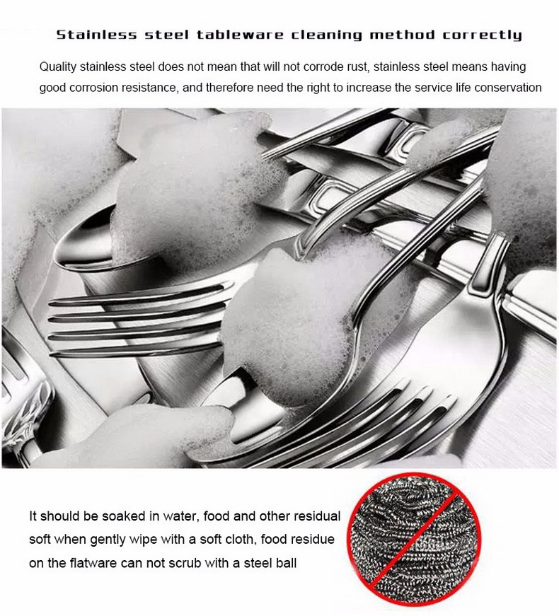 Colorful Stainless Steel Dinnerware Sets - 1mrk.com