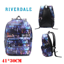 Riverdale Archie Betty Printing Backpack Stranger Things Leisure Daily Notebook Travel Student School Bag