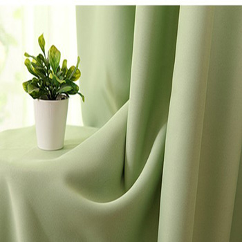 Fabric curtain dodechedron sun-shading  solid color brief customize