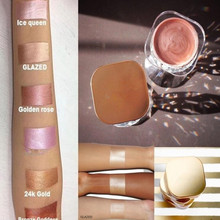 Glazed 6 Colors Beauty Makeup Highlighter Illuminator Jelly Liquid Highlighter Shimmer Face Glow Kit Cream Concealer Maquillage(China)