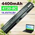 Batería de 8 celdas para hp probook 4730 s 4740 s 633734-141 633734-151 633734-421 633807-001 hstnn-i98c-7 hstnn-ib2s hstnn-lb2s pr08