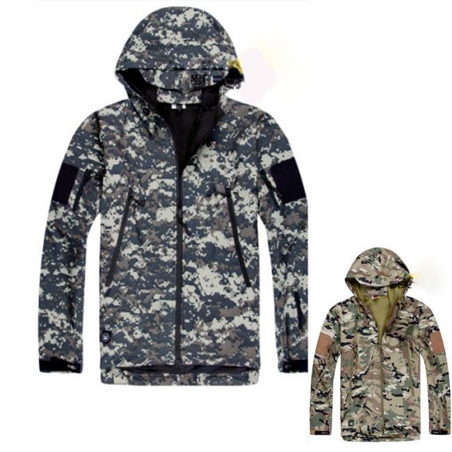 2014 New Mens Windstopper waterproof softshell windbreaker Jacket Spring and Autumn outdoor coat acu cp 8 color 2015 windstopper softshell 1009etk