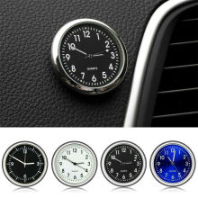 New Fashion Luminous Car Auto Stick-On Quartz Clock Time Wat