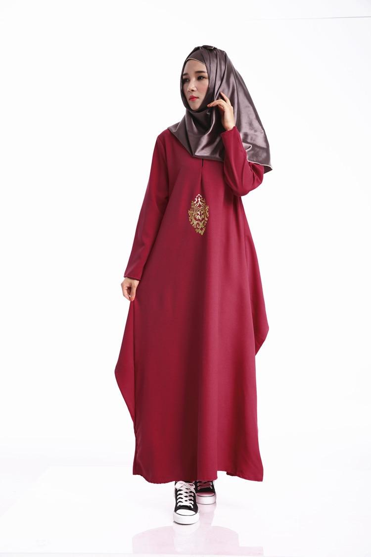 2016 мода парандёу абая мусульманская девушка длинное платье г женской одежды плюс размер дубай арабские джеллаба вышивка платье