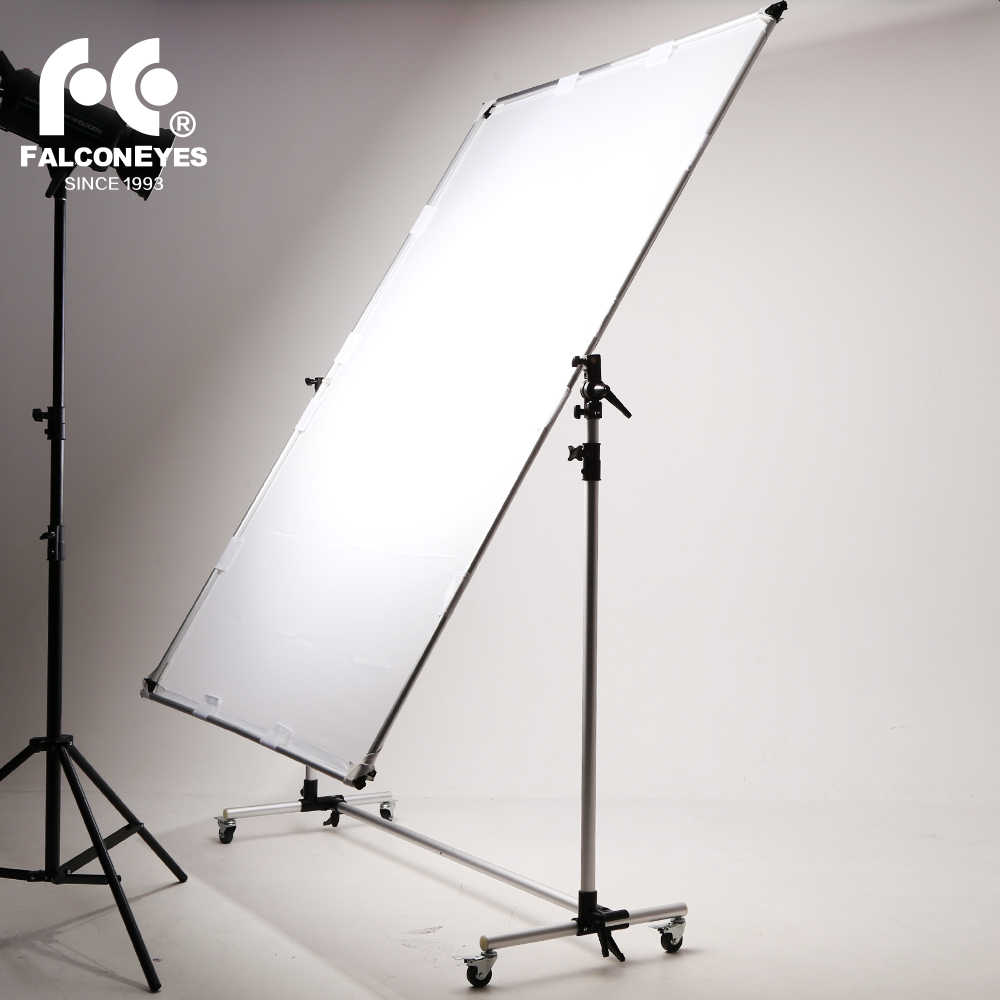 Falcon Eyes Pro Studio Solutions Adjustable Direction 150 x 200cm Sun Scrim Collapsible Frame Diffuse Reflector Kit with Pulley