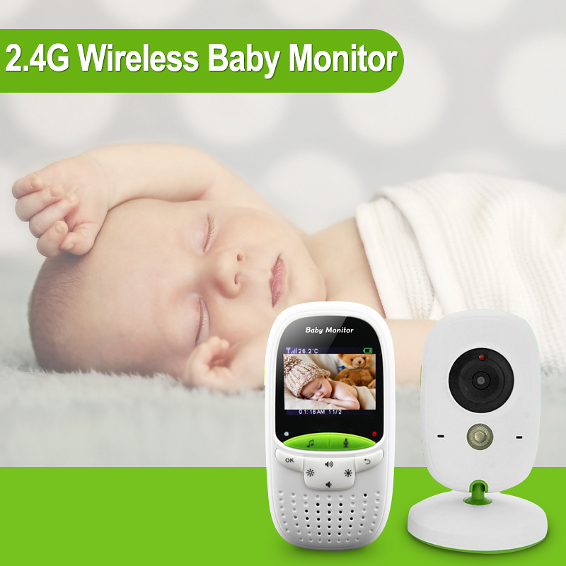 LCD 2.0 Inch Wireless Video Baby Monitor IR Night Vision Temperature Monitor Music Two Way Voice Intercom VOX Baby Care System sabrina scala платье sabrina scala sabsss013 красный