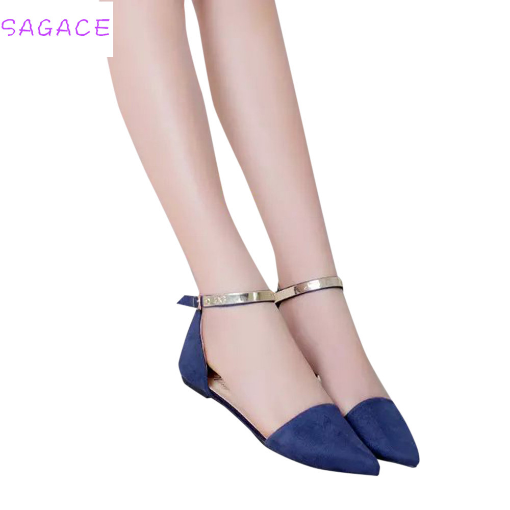 Flop Slipper Single-Shoes Flat Ladies Women New-Fashion Solid Flock Size35-39 On-Slider