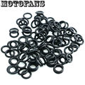 Motofans - Motorcycle Replacements Twin Cam Oil Drain Plug O-Ring Rubber for Harley/ Buell OEM #11105 Dealing Ring 100 Pack Bulk