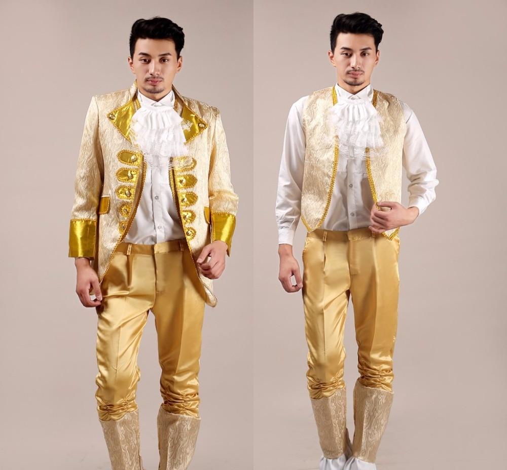 Jacket vest pants font b Suit b font male costume font b men s b