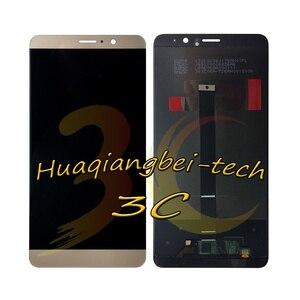 Image 3 - 5.9 新華為メイト 9 MHA L09 MHA L29 フル Lcd ディスプレイ + タッチスクリーンデジタイザ国会 + フレームカバー 100% テスト