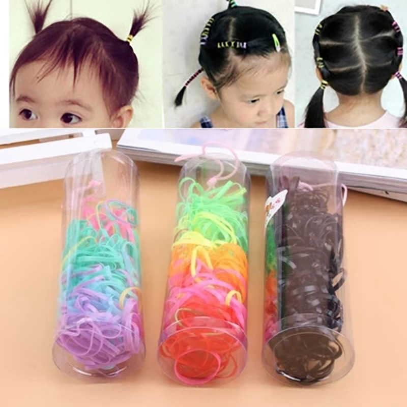 Hair Accessories Colorful Rubber Band Girl Children Hairstyle