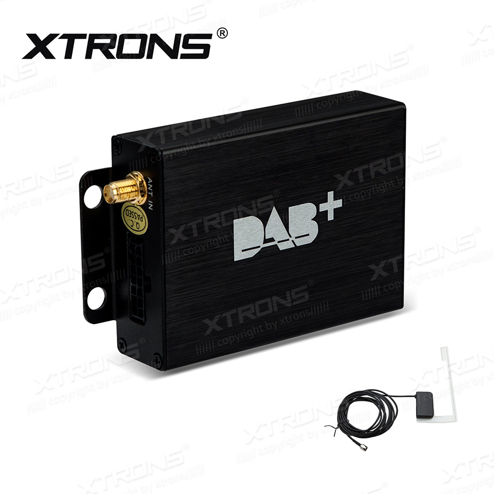 XTRONS DAB+ Digital Radio Broadcasting Receiver Box For XTRONS D719G And TD102G With DAB+ Antenna digital vehicle dab radio car radio tuner with fm transmitter include antenna y4421a