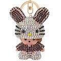 New Cute Monchichi Rabbit Design Lovely Bunny Keychain Pendant Fit For Car Key Purse Bag Handbag Accessory Excellent Gift