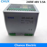 Din rail Switching Power Supply 240W 48V 5A Single Output AC dc input SMPS DR240w 48v for cnc led light