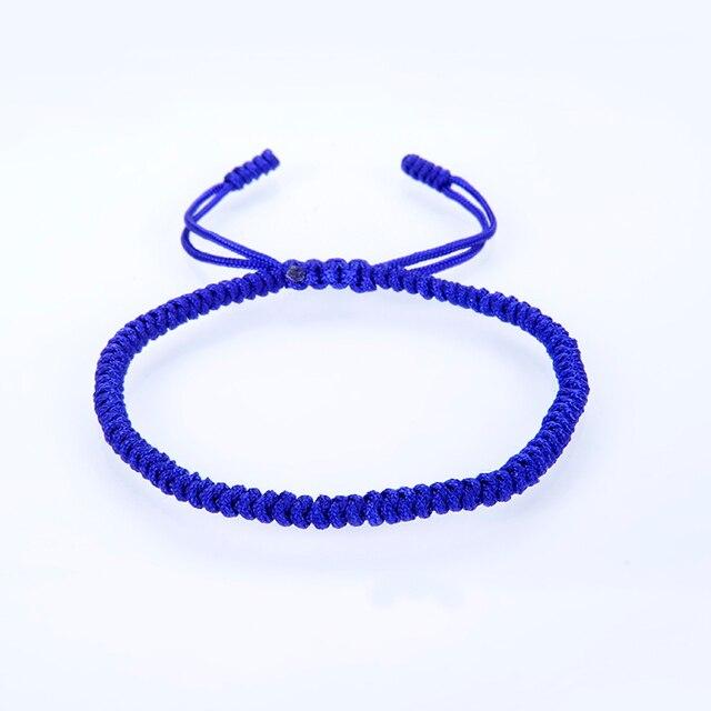 Bracelet Bouddhiste chance bleu