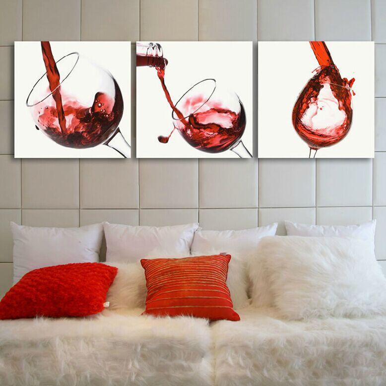 Achetez en gros peinture tasses en verre en ligne des for Chambre red wine