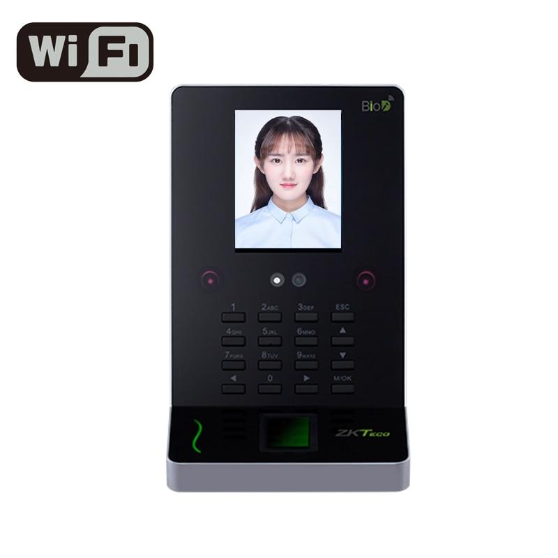 ZKTeco UF600 WIFI Face Recognition Machine Time Attendance Access Control Face Reader Fingerprint Sensor