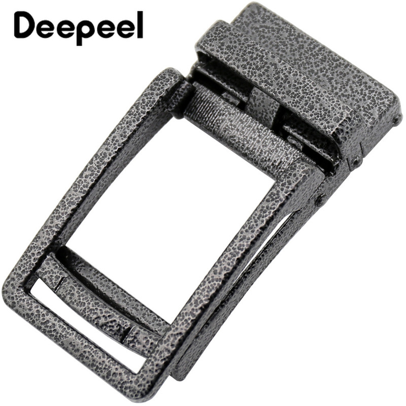 Fashion Metal Buckles For Belt Business Men Belt Buckle Head Waistband For 34-35mm Belts Jeans Accessories DIY Leather Crafts