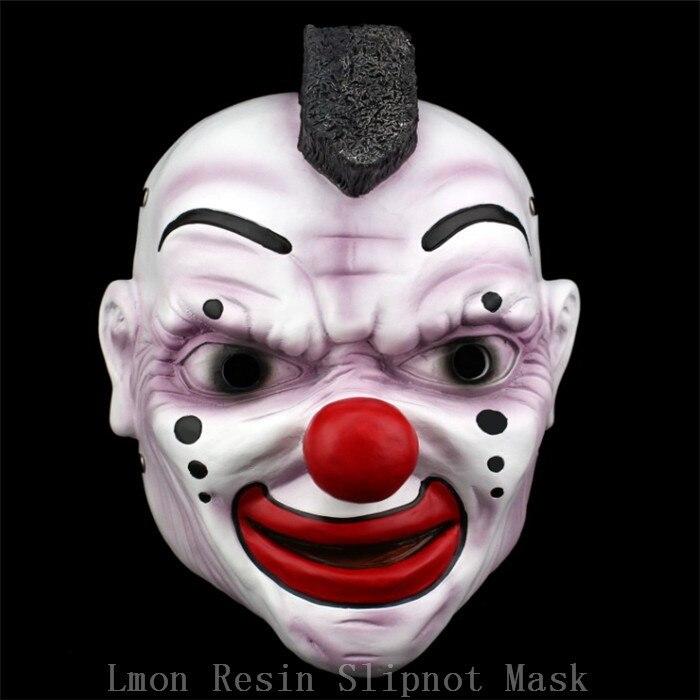 100% harz Clown Maske Slipknot Joey Cosplay Maske Scary Movie Maske ...