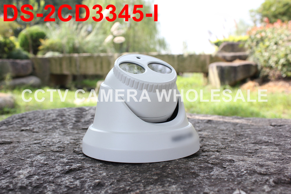 Multi-language  version DS-2CD3345-I mini 4MP H.265 Turret Network cctv IP Camera POE newest hik ds 2cd3345 i 1080p full hd 4mp multi language cctv camera poe ipc onvif ip camera replace ds 2cd2432wd i ds 2cd2345 i