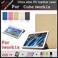 Alta qualidade ultra slim pu leather case para cubo iwork1x 11.6 polegada tablet pc capa protetora freeshipping + 3 presente