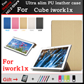 High quality Ultra slim PU Leather Case For Cube iwork1x 11.6 inch Tablet PC protective cover Freeshipping+3 Gift