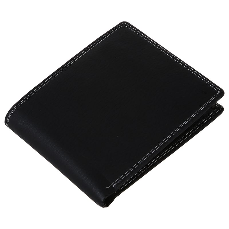 Men Luxury Leather Card Cash Receipt Holder Organizer Bifold Wallet Coin Purse