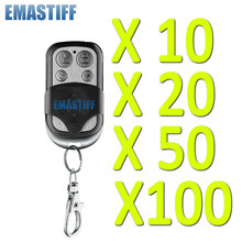 Système d'alarme de sécurité domestique sans fil, avec télécommande en métal noir, 100 MHz, 10/20/50/433 pièces, haute qualité, GSM, pstn, livraison gratuite