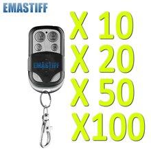 Gratis shipping10/20/50/100 stks 433 MHz draadloze zwart metalen remote alarm Hoge kwaliteit Home security alarm VOOR GSM pstn Alarmsysteem