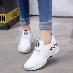 Мода 2019 повседневная обувь Женская Удобная zapatillas mujer дышащая обувь женские Сникеры на платформе Chaussure Femme