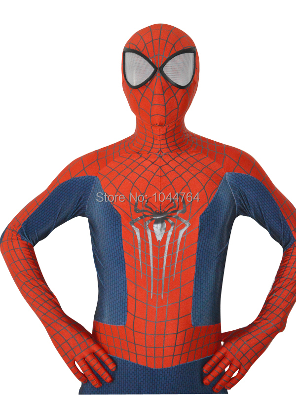 The Newest <font><b>Amazing</b></font> <font><b>spiderman</b></font> <font><b>2</b></font> costume the 3D print pattan spider-man costume special sale