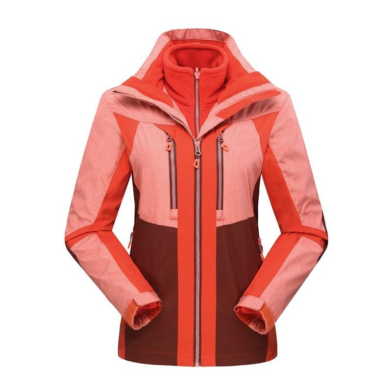ФОТО Plus Size ski jacket women snowboard jacket men waterproof snow jackets plus fleece Mountain hiking ski suit Big yards