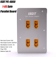 ISDT PC 4860 1 8S Safe Parallel Board XT60 Plug Parallel Charging Board For SC 608
