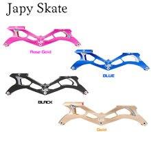 Japy Skate Flying Eagle Ultra Quadro de Skate de Velocidade Em Linha Com 88A 3X125 milímetros Rodas de Alumínio CNC 10.5'' 267 milímetros Velocidade Patine Bacia