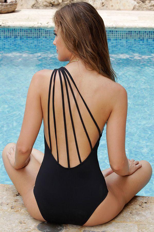 Sexy back swimwear